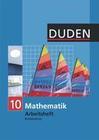 Mathematik 10 Arbeitsheft. Brandenburg Oberschule