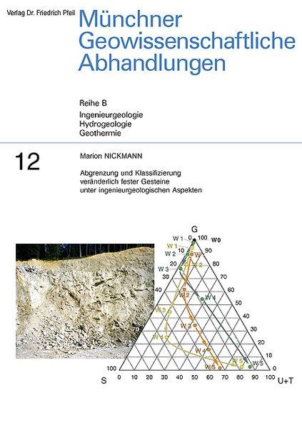Abgrenzung und Klassifizierung veränderlich fester Gesteine unter ingenieurgeologischen Aspekten als Buch von Marion Nic