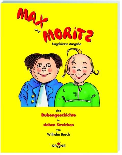 Max und Moritz als Buch