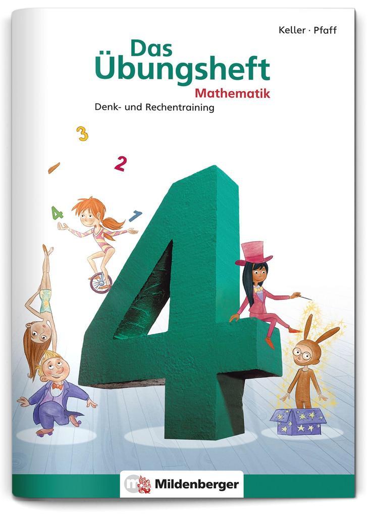 Das Übungsheft 4. Mathe. Neubearbeitung als Buch