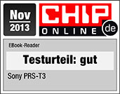 Der Sony Reader PRS-T3 - Testurteil Gut