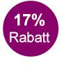 17% Rabatt