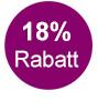 18 Prozent Rabatt