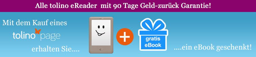tolino page kaufen & gratis eBook erhalten