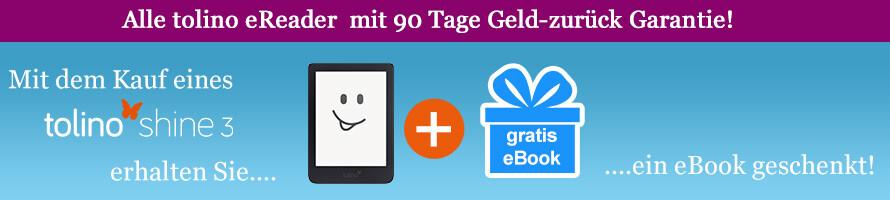 tolino shine 3 kaufen und gratis eBook erhalten