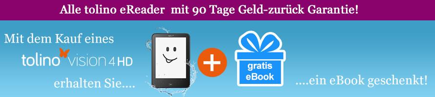 tolino vision 4 HD kaufen & gratis eBook erhalten