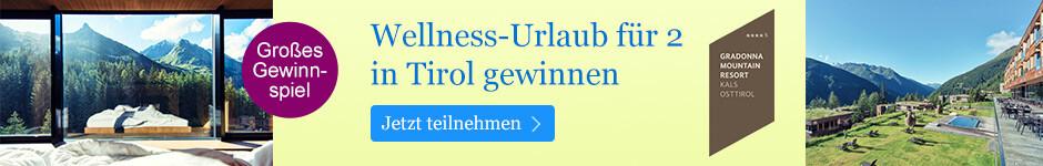 Großes Gewinnspiel bei eBook.de: Wellness-Urlaub für 2 in Osttirol