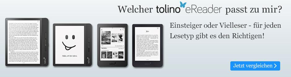 Mit tolino den passenden eReader für jeden Lesetyp finden