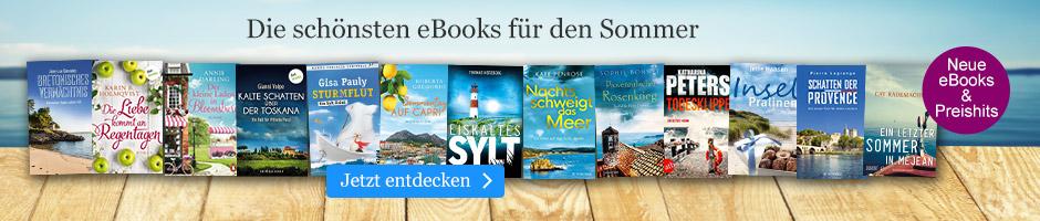 Die schönsten eBooks für den Sommer bei eBook.de