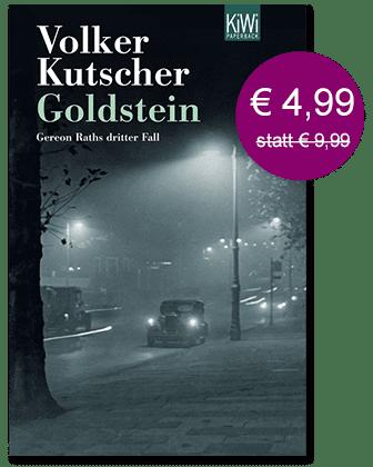 Unser Adventsdeal für den 24. Dezember: Goldstein von Volker Kutscher