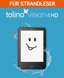 tolino shine 4 HD - Der eReader für Strandleser