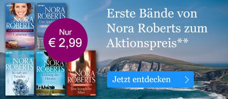 Erste Bände von Nora Roberts reduziert bei eBook.de