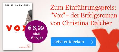 Zum Einführungspreis: Vox von Christina Dalcher bei eBook.de