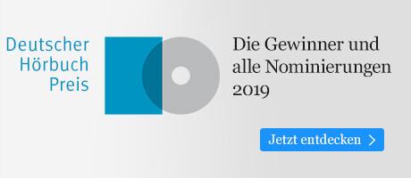 Die besten Hörbücher: Deutscher Hörbuchpreis 2019 bei eBook.de