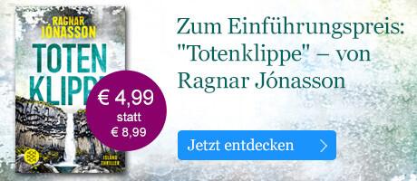 Zum Einführungspreis: Totenklippe von Ragnar Jónasson bei eBook.de