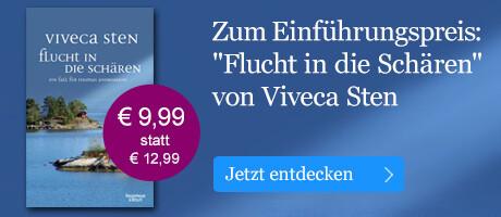 Zum Einführungspreis: Flucht in die Schären von Viveca Sten bei eBook.de