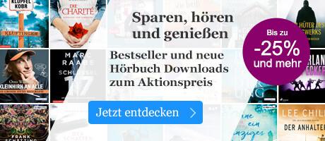 Bestseller und neue Hörbuch Downloads zum Aktionspreis bei Book.de
