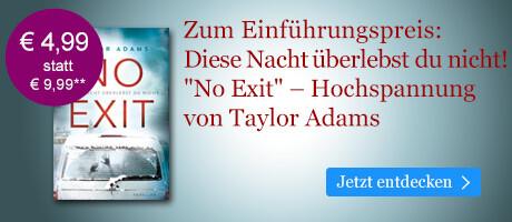 Zum Einführungspreis bei eBook.de: No Exit von Taylor Adams