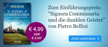 Zum Einführungspreis bei eBook.de: Signora Commissaria und die dunklen Geister von Pietro Bellini