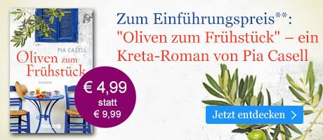 Zum Einführungspreis: Oliven zum Frühstück von Pia Casell