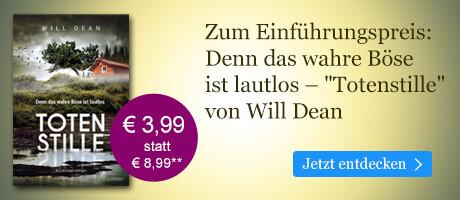 Zum Einführungspreis bei eBook.de: Totenstille von Will Dean