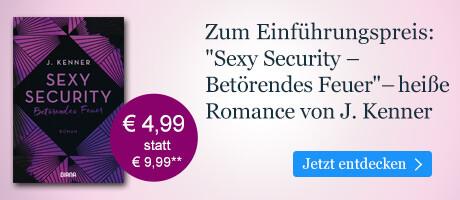 Zum Einführungspreis bei eBook.de: Sexy Security von J. Kenner