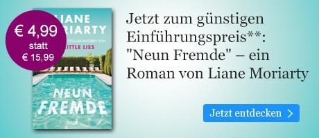 Zum Einführungspreis bei eBook.de: Neun Fremde von Liane Moriarty
