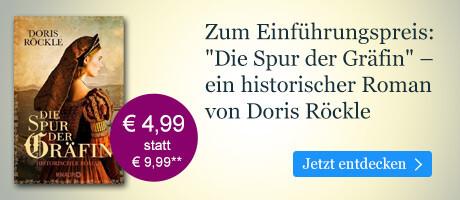 Zum Einführungspreis bei eBook.de: Die Spur der Gräfin von Doris Röckle