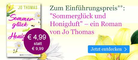 Zum Einführungspreis: Sommerglück und Honigduft von Jo Thomas bei eBook.de