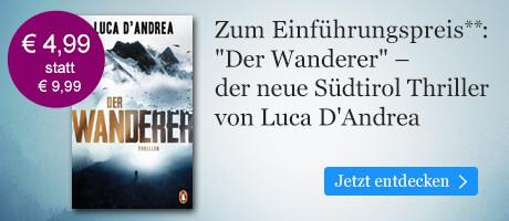 Zum Einführungspreis bei eBook.de: Der Wanderer von Luca D'Andrea