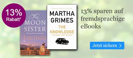 13% sparen auf internationale eBooks