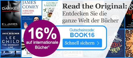 Jetzt 16% Rabatt auf fremdsprachige Bücher sichern