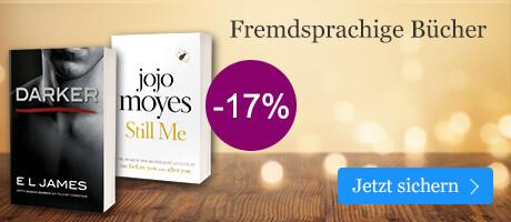 Sparen Sie 17% auf  fremdsprachige Bücher