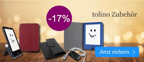 Sparen Sie 17% auf tolino Zubehör