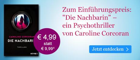 Zum Einführungspreis bei eBook.de: Die Nachbarin von Caroline Corcoran