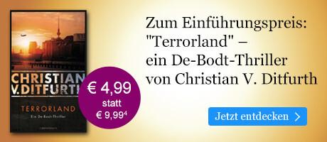 Zum Einführungspreis bei eBook.de: Terrorland von Christian V. Ditfurth