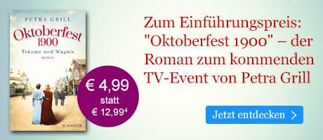 Zum Einführungspreis bei eBook.de: Oktoberfest 1900 - Träume und Wagnis von Petra Grill