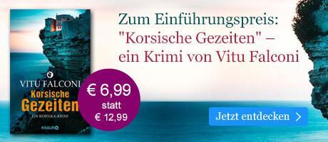 Zum Einführungspreis: Korsische Gezeiten von Vitu Falconi bei eBook.de
