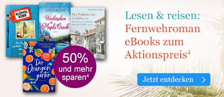 Lesen & reisen: Fernwehroman eBooks zum Aktionspreis bei eBook.de