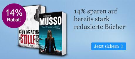 Sparen Sie 14% auf bereits stark reduzierte Bücher
