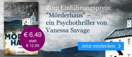 Zum Einführungspreis: Mörderhaus von Vanessa Savage bei eBook.de