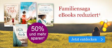 Starke Frauen und ihre Geschichten: Familiensagas zum Aktionspreis bei eBook.de