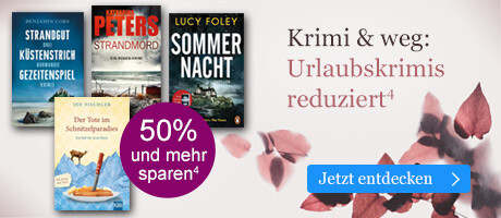 Krimi & weg: Urlaubskrimis reduziert bei eBook.de
