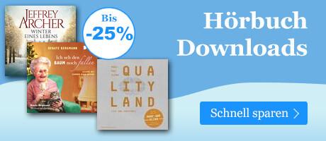 Hörbuch Downloads bis -25%