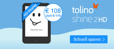 tolino shine 2 HD im Winter SALE bei eBook.de