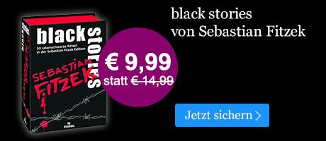 BLACK WEEK Angebot: Black Stories von Sebastian Fitzek für nur € 9,99