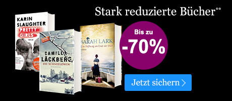 BLACK WEEK Angebot: Stark reduzierte Bücher