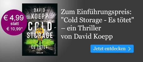 Zum Einführungspreis bei eBook.de: Cold Storage - Es tötet von David Koepp
