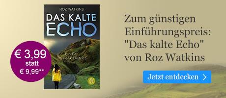 Zum Einführungspreis bei eBook.de: Das kalte Echo von Roz Watkins