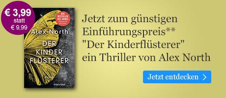 Zum Einführungspreis: Der Kinderflüsterer von Alex North bei eBook.de